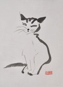 Katze von Claudia Janßen