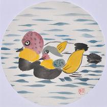 Entenpaar von Claudia Janßen
