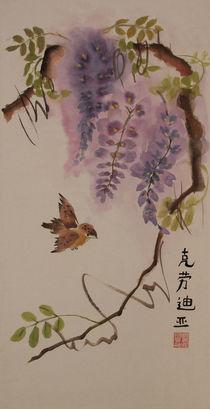 Einsames Vögelchen von Claudia Janßen