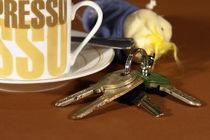 Espresso und Schlüssel by gandalf