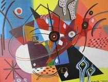 Abstrakte Welt von Danuta Maria Irrek