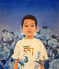 Kleiner Tsering von Ernst Thupten Dawa Neuhold