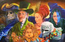 Carneval von Ernst Thupten Dawa Neuhold