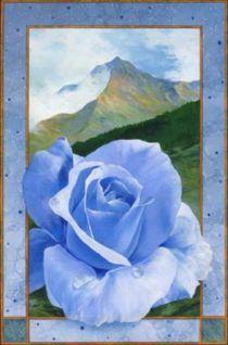 BlaueBergrose von Ernst Thupten Dawa Neuhold