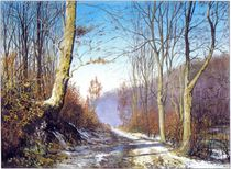 Waldweg von Ernst Thupten Dawa Neuhold