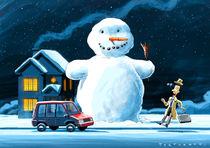 The snowman by stefano tartarotti
