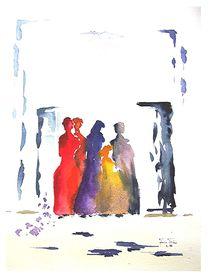 Berberfrauen by Theodor Fischer