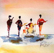 Beatles by Theodor Fischer