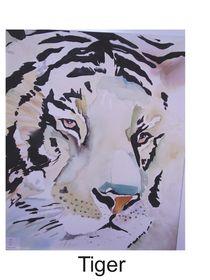 Tiger by Theodor Fischer