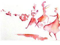 tanzende Frauen by Theodor Fischer