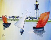 Bretagne Belle Ile by Theodor Fischer