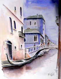Venedig by Theodor Fischer