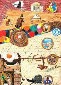 Spiel Räume  von Künstler Ralf Hasse