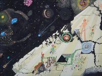 Wir sind nicht  alleine im Universum  von Künstler Ralf Hasse