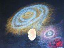 Galaxie - Universum - Entstehung - Reinkarnation - Neuanfang by Künstler Ralf Hasse