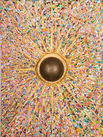 Einschlag  120  x 90  by Künstler Ralf Hasse