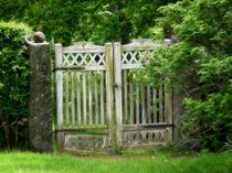 Das Gartentor von fotokunst