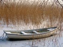Gefrorenes Boot von fotokunst