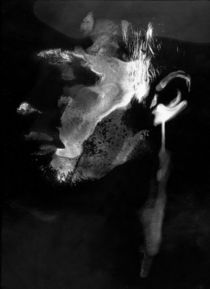Fotochemisches Selbstportrait von Stefan Hopf