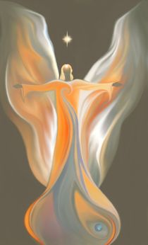 Erzengel Uriel / Archangel Uriel von Kirsten Helmke