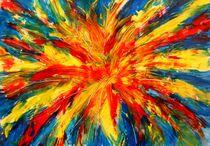Feuerwerk 1 von Peter M. Marxbauer