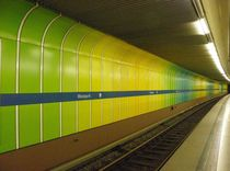 Ubahn München von Peter M. Marxbauer