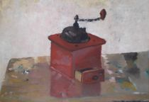 Stilleben mit Kaffeemühle by Michael Völlings