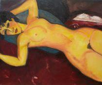 Liegende 2 (nach Amedo Modigliani)