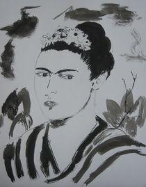 Frida Kahlo by Bernd Raab