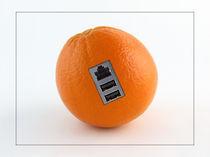Cyber-Orange by vhwdigitalart