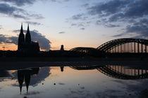 Kölner Spiegelung by scphoto