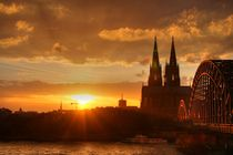 Sunset in Köln by scphoto