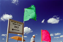 Green flags von Andreas Klingebiel