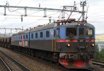 LKAB Lokomotive, -zug Nordschweden von Nils Grund