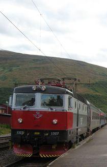 SJ Lokomotive, -zug - Nordschweden Lulea - Narvik von Nils Grund