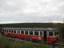 Inlandsbanan Inlandsbahn Schweden am Polarkreis von Nils Grund