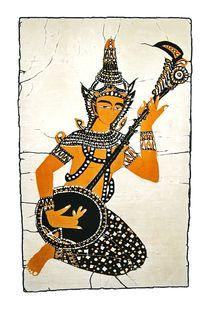 Indischer Klang von Gabriele Pomykaj
