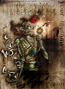 Smokin´ Mummy by Christian Zanotelli