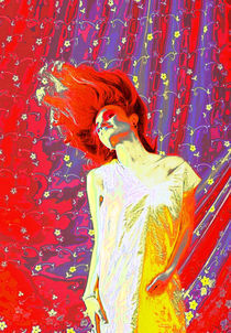 Feuerfrau III by amelierauschenbach
