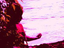 Feuerkind am Wasser von amelierauschenbach