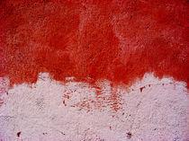 Frisch verputzt und sehr rot by amelierauschenbach