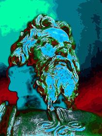 Blauer Prophet by amelierauschenbach