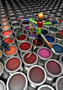 Color Artist II by Hubertus Reuber