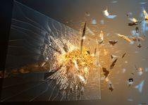 broken glass by Hubertus Reuber