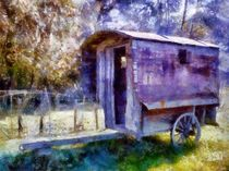 Old Shepherd's Trailer by Andrea Rausch