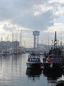 Der Hafen von Barcelona von Sizou BE