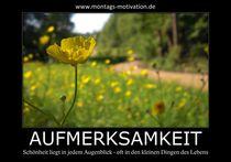 Motivation Poster Aufmerksamkeit von changenow