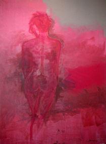 Akt in Rot von Walli Gutmann