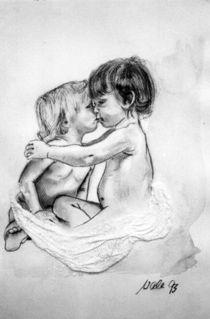 Der Kuss von Walli Gutmann