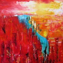 rote Farblandschaft by seiltaenzerin